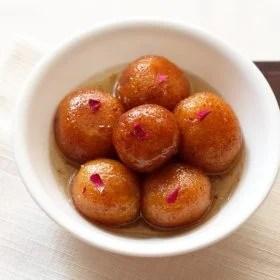 gulab jamun recipe, easy gulab jamun recipe