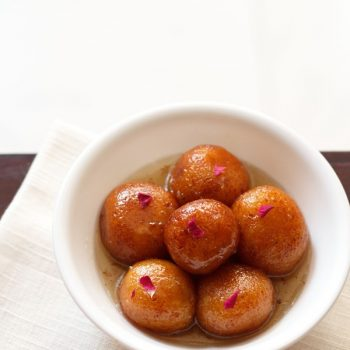 Best Gulab Jamun – 2 Ways (khoya or milk powder)