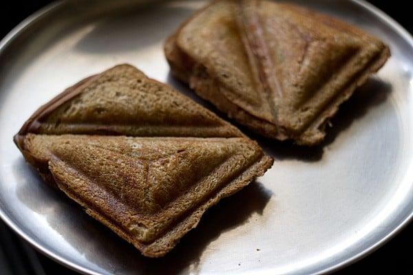 toast the veg cheese sandwich