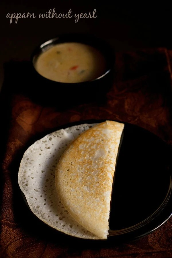 appam recipe with out yeast, appam recipe