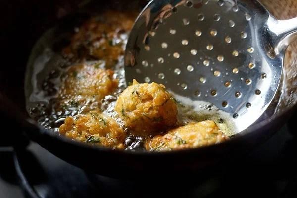 fried rice pakoras
