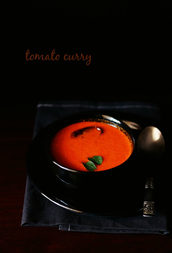 tomato curry recipe, tamatar curry