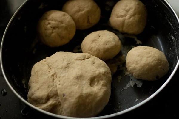dough balls for bread bhatura recipe