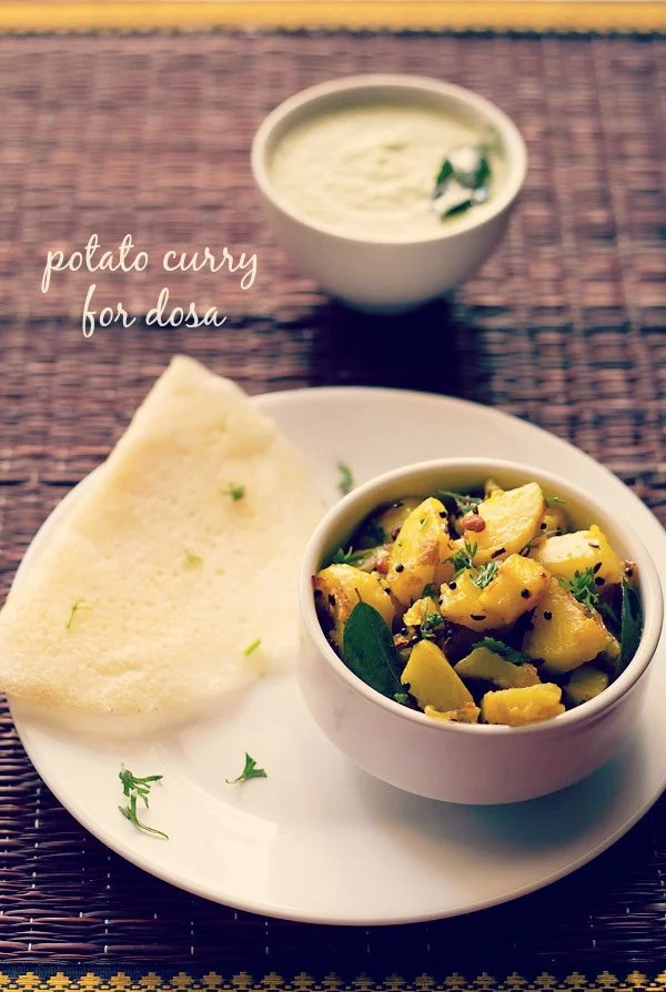 potato bhaji for dosa