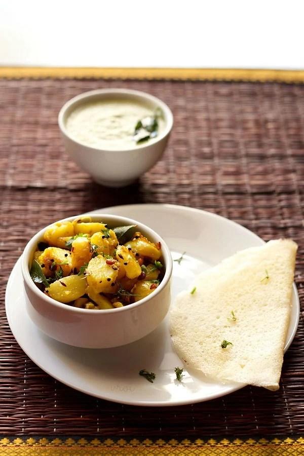 potato filling masala dosa recipe