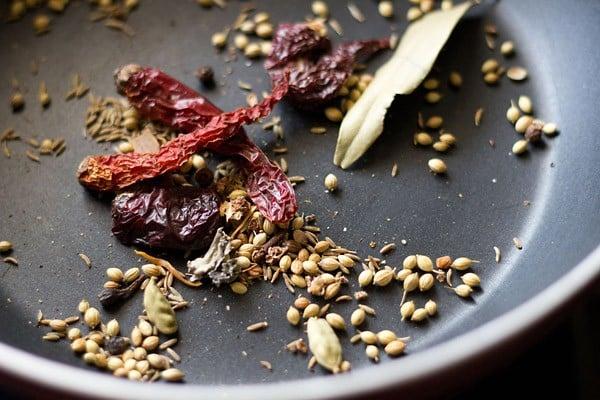 ingredients for kolhapuri masala