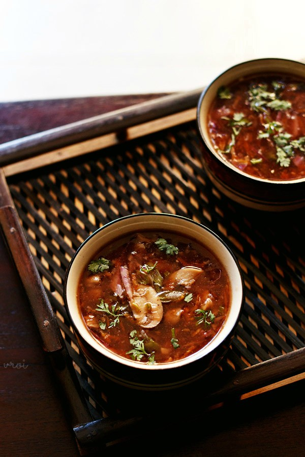 hot and sour recipe, recipe of hot and sour soup