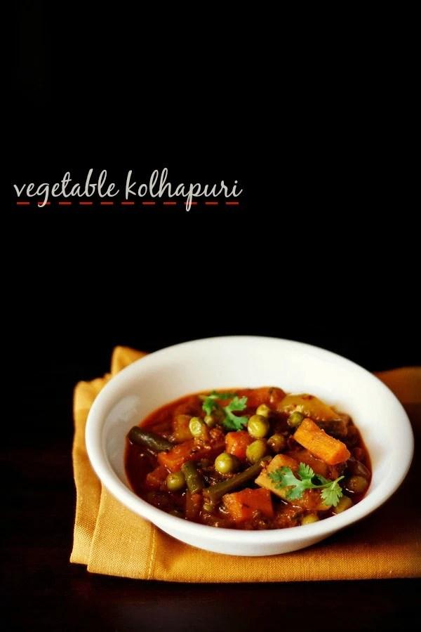 vegetable kolhapuri recipe