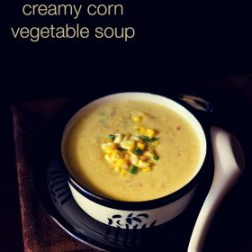 creamy corn vegetable soup