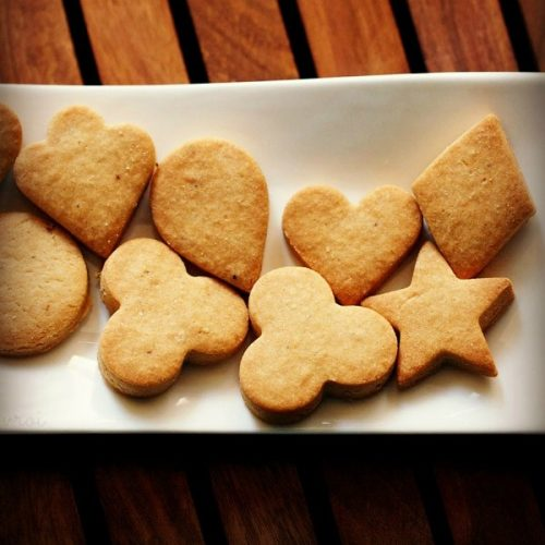 eggless butter cookies recipe