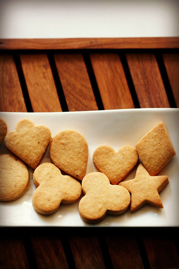 Eggless Butter Cookies Recipe Tasty Whole Wheat Butter