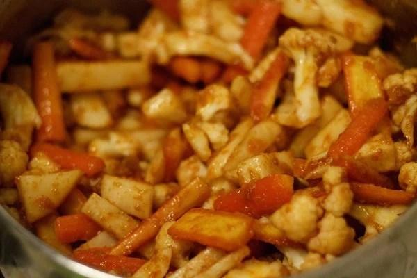 stir - gobi shalgam gajar achar recipe