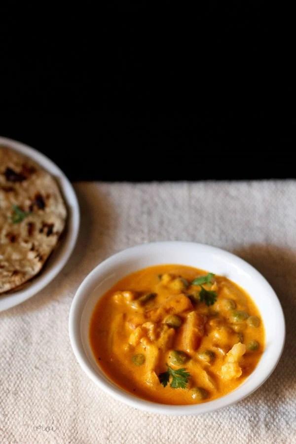 veg makhanwala, veg makhanwala recipe