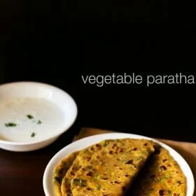 mix veg paratha, vegetable paratha recipe, veg paratha