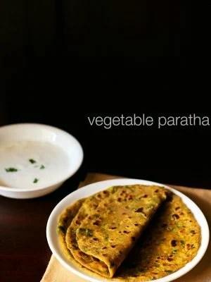 mix veg paratha, vegetable paratha recipe, veg paratha