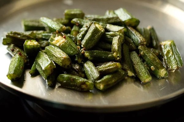 sauted bhindi for bhindi masala recipe