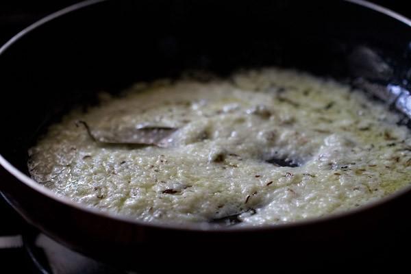 stir kaju khoya curry