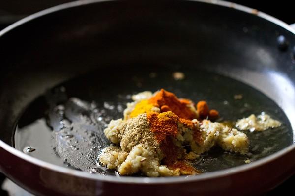 spices for kaju khoya recipe