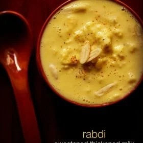 rabri recipe, rabdi recipe