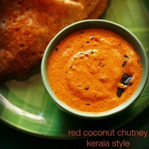 red coconut chutney recipe