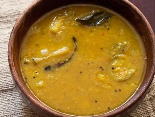 kathirikai sambar recipe
