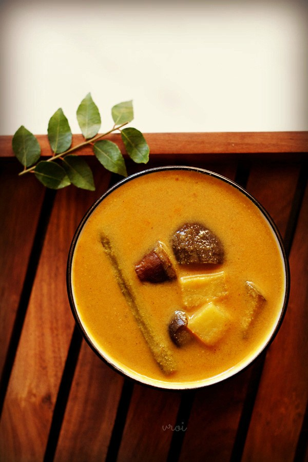 mix vegetable kuzhambu recipe, kuzhambu recipe