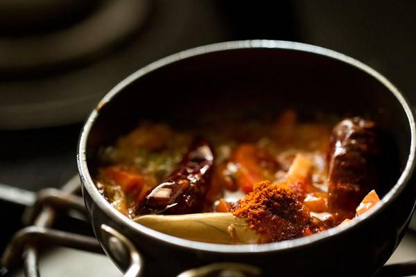 chilli for gujarati trevti dal recipe