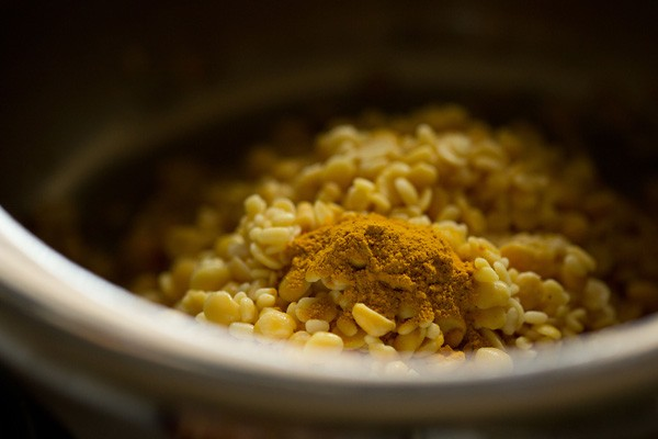 cooking dals for trevti dal recipe