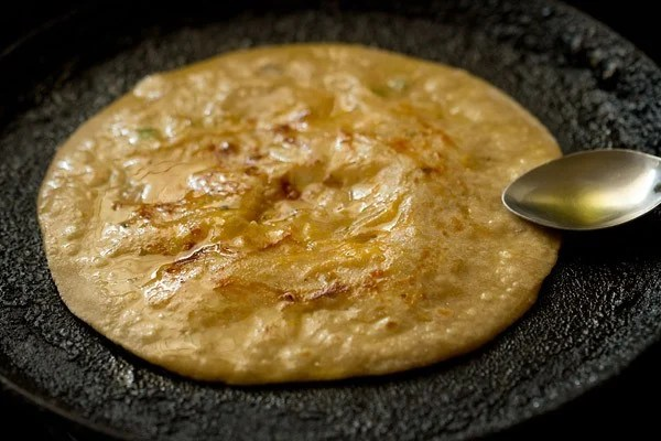 cooking cheese paratha recipe