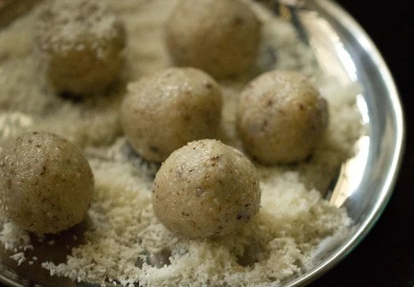 coconut ladoo recipe with condensed milk