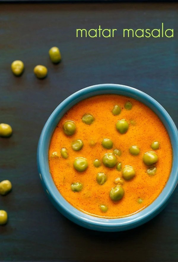 green peas masala, matar masala recipe