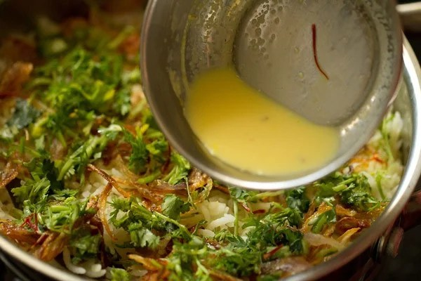 ghee for paneer biryani recipe