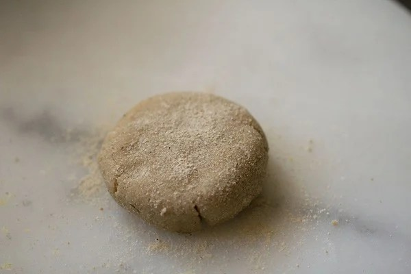 amaranth paratha dough