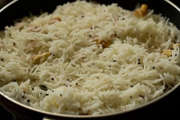 stir rice sevian upma recipe