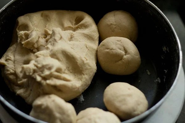 dough balls for tandoori roti recipe