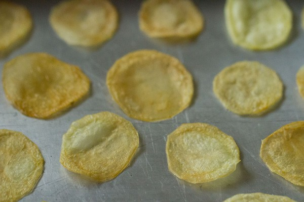 baked potato chips recipe, potato chips recipe