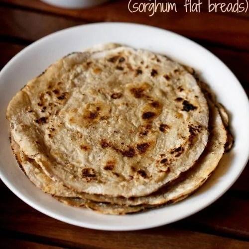 jowar roti recipe, jowar bhakri recipe