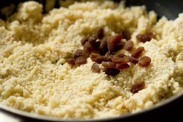 raisins for milk kesari recipe