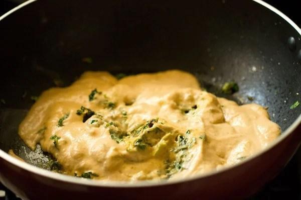paste for methi malai paneer recipe