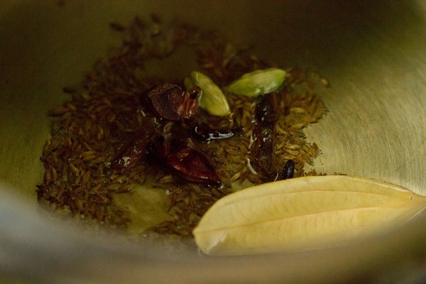 spices for tomato pulao recipe