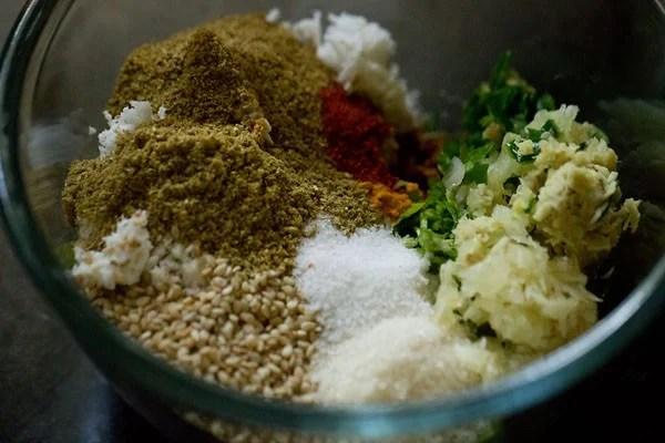 spices for undhiyu recipe