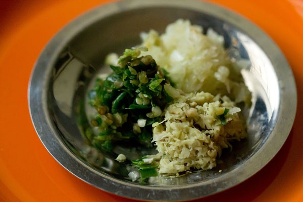 ginger for undhiyu recipe