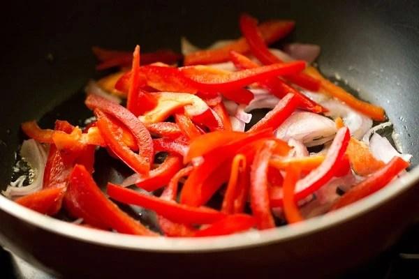 bell pepper for veg kadai recipe