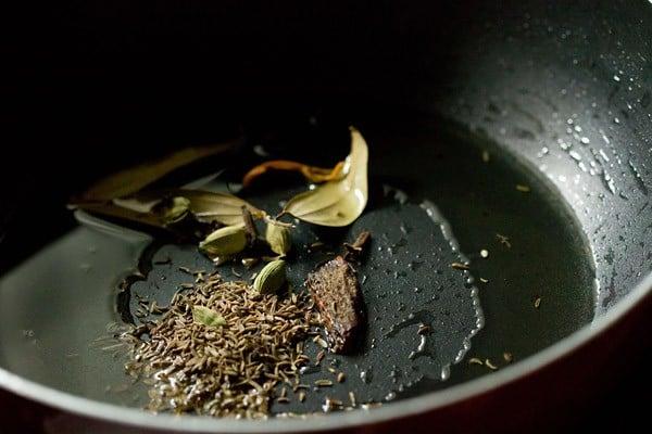 spices for Bombay biryani recipe
