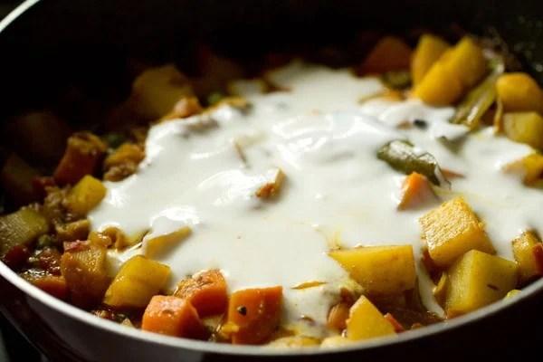 curd for Bombay biryani recipe