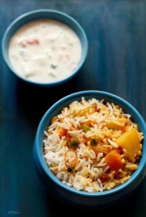 Bombay veg biryani recipe