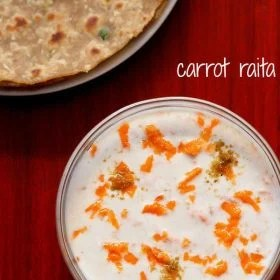 carrot raita recipe