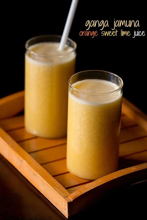 ganga jamuna juice recipe