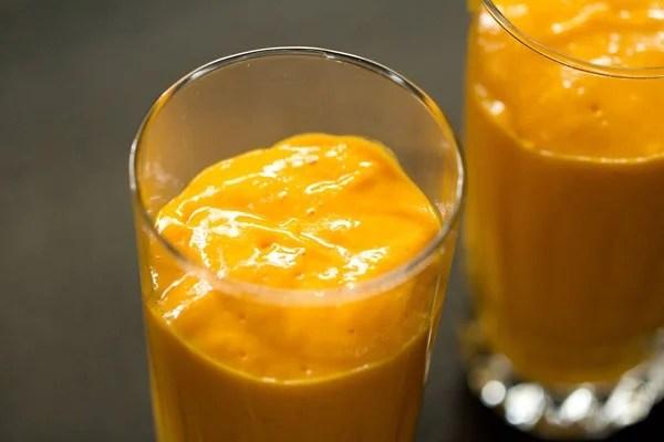mango juice for mango mastani recipe