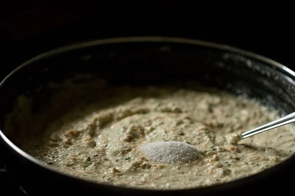 salt for oats idli batter